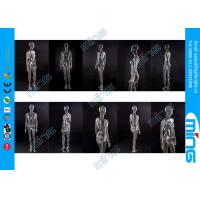 Buy cheap Black PC Full Standing Female Mannequin Real Makeup with Wooden Base from wholesalers