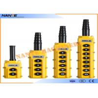 Buy cheap Single Speed AS4 Industrial Remote Pendant Control Stations Overhead Crane Pendant Control from wholesalers