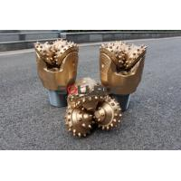 Buy cheap High Efficiency 9 inch 229mm IADC545 Gold Color Tricone Drill Bit For Mining product