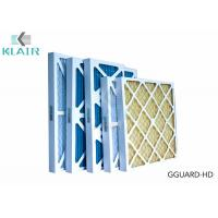 Wholesale Pleated Hvac Air Filters G3 G4 Merv 8 For Industrial / Commerical Application from china suppliers