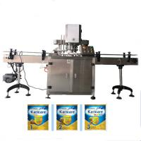 Buy cheap Tin Cap cover can capping machine from wholesalers