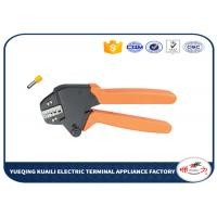 Buy cheap Terminal Cable Crimping Tool Insulated And Insulated Ferrule Crimping Tool Plier VH1-06WF from wholesalers