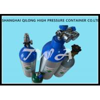 Wholesale High Pressure Aluminum Gas Cylinders 0.22L-50L For Industrial Gases Or Specialty Gases from china suppliers