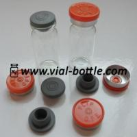 Empty 10ml Glass Bottle, Rubber Stopper And Colored Flip Off Tops