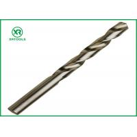 Buy cheap Bright Finish HSS Drill Bits For Hardened Steel DIN 338 Straight Shank Left Hand twist drill bits from wholesalers