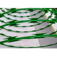 Buy cheap Custom Green Powder Coated Razor Wire Mesh BTO-22 For Razor Welded Fencing from wholesalers