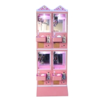 Buy cheap Metal Cabinet 4 Player Toy Crane Machine With Stable Game Board from wholesalers
