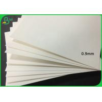Buy cheap 0.4MM - 2MM Thickness White Color Perfume Testing Paper Board With Free Sample from wholesalers