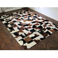 Buy cheap Luxury Cow Leather Carpert Rug Of Animal Hide&Skin For Home Decor product
