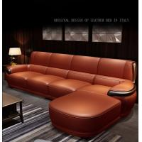 Buy cheap High End Nordic Style Leather Sofa Multi Seater For 5 Star Hotel / Home from wholesalers