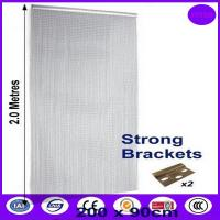 Buy cheap Flexible living room partition wall chain link curtain from wholesalers
