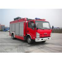 Wholesale Professional 3 Seat Light Rescue Fire Trucks 139kw With ISUZU Chassis from china suppliers