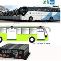 Buy cheap Vehicle bus camera, cam bus 4ch SD Card mobile DVR with GPS for location tracking from wholesalers