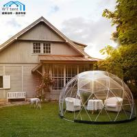 Buy cheap Giant Geodesic Dome Tent Camping PVC Fabric Aluminum Alloy Frame from wholesalers