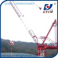 Buy cheap 25m Jib 2.0ton Tip Load QTD2520 Small Luffing Jib Tower Crane with High Specifications from wholesalers