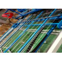Buy cheap PLC Control Fully Automatic Crimped Wire Mesh Weaving Machine For Welded Mesh Fence Panel from wholesalers