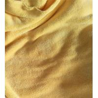 Wholesale 150cm Width 550gsm Microfiber Cleaning Cloth Yellow Coral Fleece 150D / 144F from china suppliers