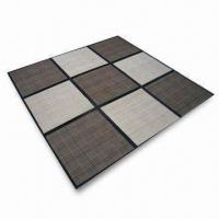 Buy cheap 180 x 220/180 x 180cm Mat/Rug, Available in Various Colors, Made of Bamboo product