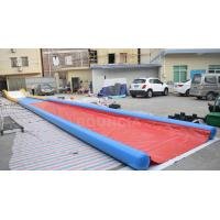 Buy cheap 27m Long Air Sealed Inflatable Water Slides For Lakeside / Inflatable Slip N Slide from wholesalers