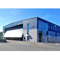 Buy cheap Gable Symmetrical Steel Structure Hangar Special Design With Huge Entrance Door from wholesalers