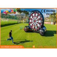 Wholesale School Or Backyard Inflatable Sports Games / Inflatable Soccer Dart Board from china suppliers
