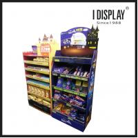 Buy cheap FSDU-014 Cardboard Floor Standing POS Point-Of-Sale (FSDU) Displays for chocolate and cookies from wholesalers