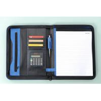 Wholesale business zippered file folder portfolio from china suppliers
