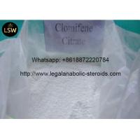 Buy cheap Pharmaceutical Intermediate Anti Estrogen Steroids Clomiphene Citrate Powder Treating Female from wholesalers