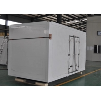 Buy cheap Insulated Refrigerated Truck Body FRP Van Panel Portable Cold Rooms from wholesalers