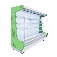 Buy cheap Universal Wheel Multi - Deck Front Open Refrigerator PVC Coated Adjustable Shelves from wholesalers