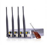 Buy cheap 4 bands Cellphone remote controlle Jammer & Cellular signal blocker from wholesalers