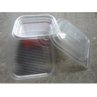 Buy cheap Plastic Disposable Food Containers / Square Take Away Tray 750ml from wholesalers