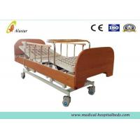 Buy cheap Three-function Electric Medical Hospital Beds , Home Care Bed with Bumper Dinning Table (ALS-HE003) from wholesalers