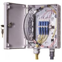 Wholesale IP55 OF Indoor / Outdoor Fiber Termination Box ,8 Fibers Small Optical Termination Box from china suppliers