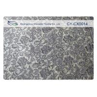 Buy cheap High Tenacity Embroidered Lace Fabric For Garment Trimming CY-CX0014 from wholesalers