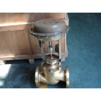 Buy cheap ASME B16.34 Bronze Material Single Seat Pneumatic Control Valve from wholesalers