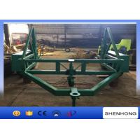 Buy cheap ISO 12 Ton Cable Reel Trailer Cable Carriage Vehicle With 120mm Axis Bar from wholesalers