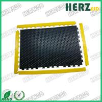 Buy cheap 12mm Thickness ESD Rubber Mat / Anti Static Anti Fatigue Mats Customized Size from wholesalers