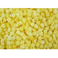 Buy cheap HACCP 10kg Organic 10mm IQF Frozen Pineapple Slices from wholesalers