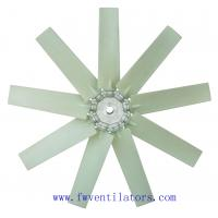 Buy cheap plastic fan blades for industrial axial ventilation fan from wholesalers