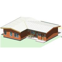 Buy cheap European Style Light Steel Villas Prefab House For Social Housing Projects from wholesalers
