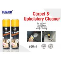 Wholesale Carpet & Upholstery Foam Cleaner For Lifting Away Dirt And Debris Without Harming Surface from china suppliers