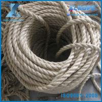 Buy cheap 12mm twisted natural hemp sisal rope for sale from wholesalers