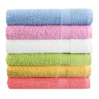 Buy cheap Super Soft High Quality 100% Cotton Bath towel 70*140cm Solid Plain Dyed Bath Hotel Towel from wholesalers