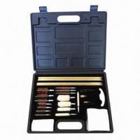 Buy cheap Universal Gun Cleaning Kit with Plastic Cleaning Handle from wholesalers