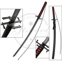 Buy cheap 41 Inch Anime Greatsword Bleach Ichigo Tensa Zangetsu Katana Sword Sale from wholesalers