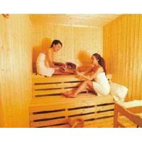Buy cheap Spruce Wood Dry Infrared Sauna Room from wholesalers