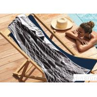 Buy cheap Soft Touch Custom Printed Beach Towels For Adults , Summer 100 Cotton Beach Towels 70x140cm from wholesalers