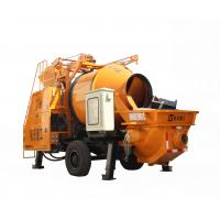 Buy cheap Full Hydraulic Diesel Engine Concrete Mixer Pump For House Building from wholesalers