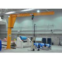 Buy cheap 2 Ton Pillar Mounted Jib Crane / Small Mobile Lifting Equipment With Hoist from wholesalers